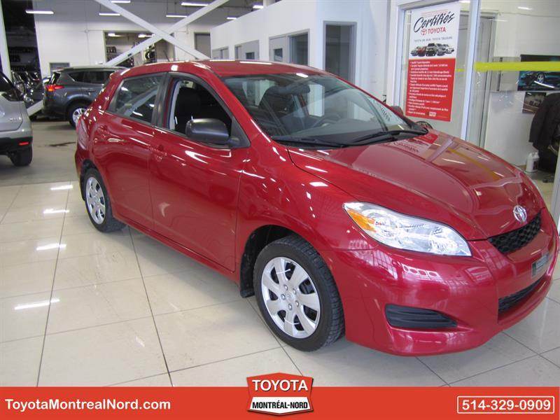Toyota Matrix 2013 Aut/Ac/Vitres,Portes,Miroirs Elec #3513 E