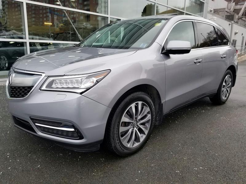 Acura MDX 2016 Navigation Package #94545D