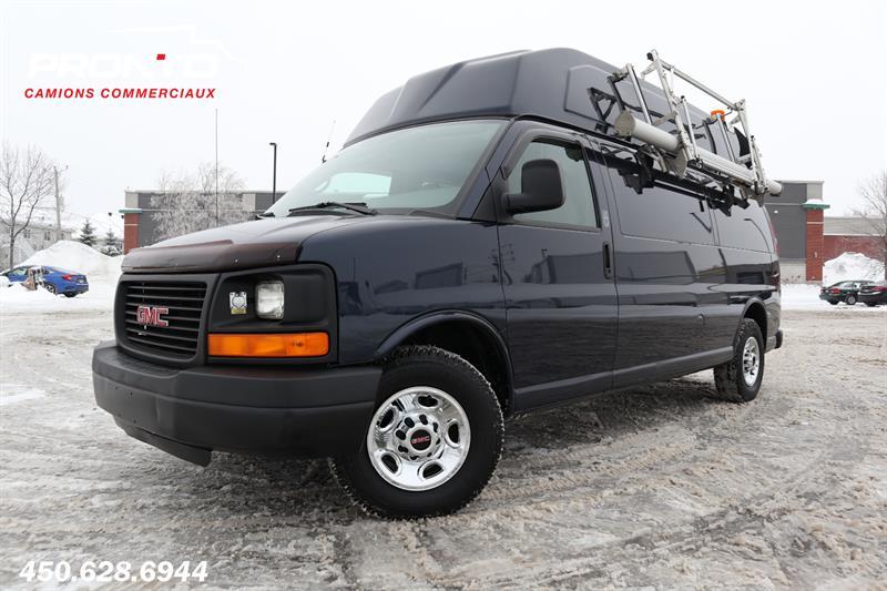 GMC Savana Cargo Van 2009 RWD 3500 155 Allongé Toit surélevé #1767