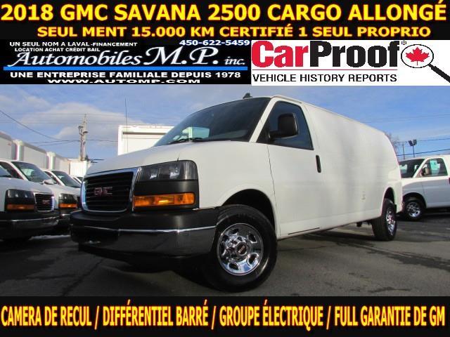 GMC Savana 2500 2018