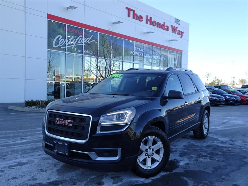 2013 GMC Acadia SLE-2 AWD - SUNROOF, HEATED FRONT SEATS, B/U CAMER #19-89B