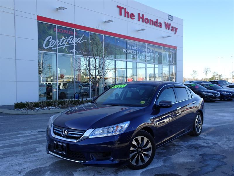 2014 Honda Accord Touring UNDER WARRANTY UNTIL 2021/160,000KM - LEAT #19-240A
