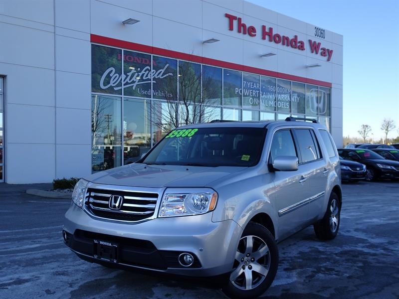 2015 Honda Pilot Touring 4WD 5-Spd AT with DVD Warranty until 2022/ #P5310