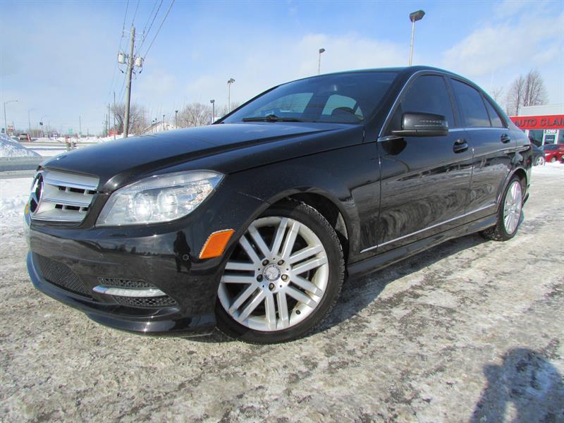 Mercedes-Benz C-Class 2011 C250 4MATIC V6 2.5L TOIT OUVRANT!!! #4001