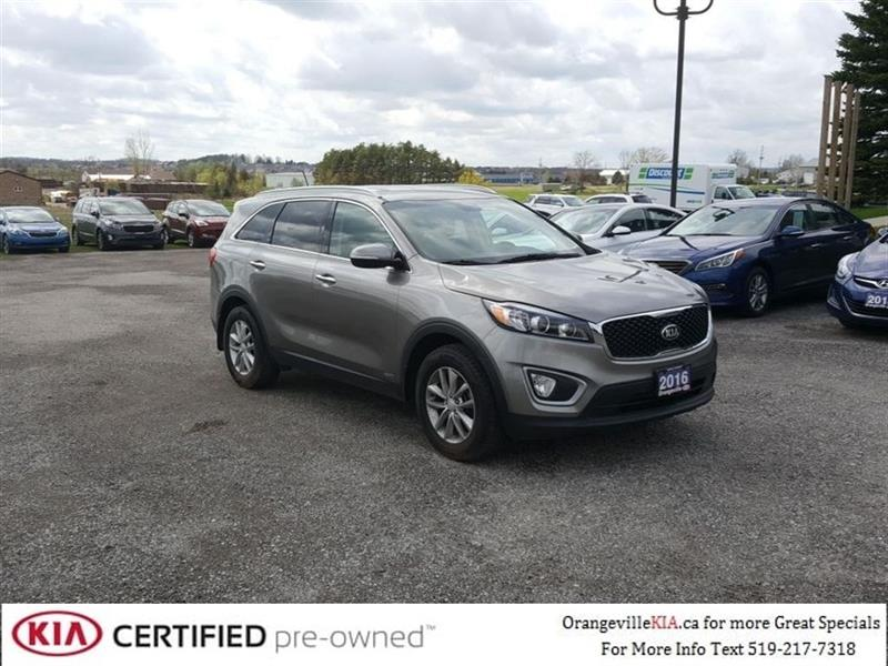 2016 Kia Sorento LX AWD Leather/Remote Start, Trade-in #85015A