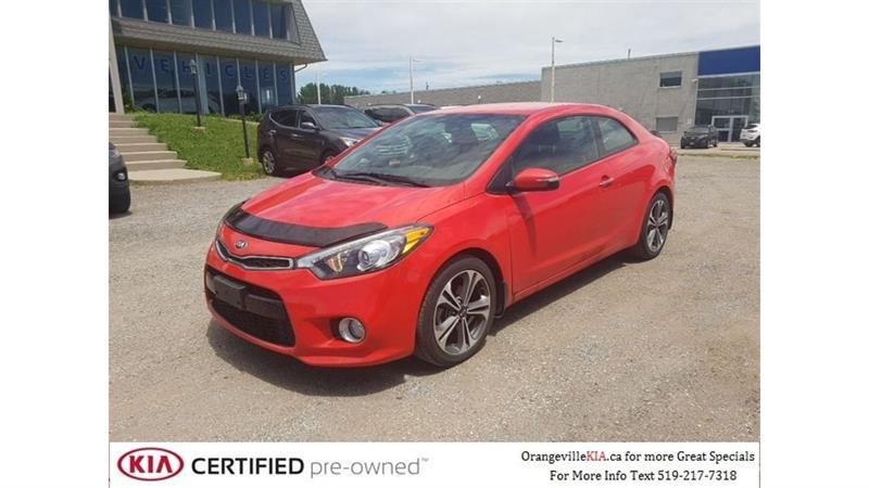 2016 Kia Forte Koup EX Auto - Trade-in, Low Kms #87052A