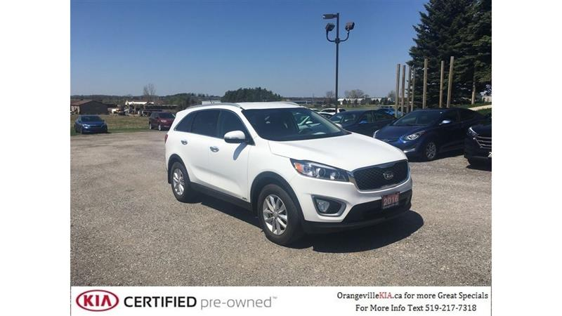 2016 Kia Sorento LX 2.4L AWD - Trade-in, Remote Start #K0636A