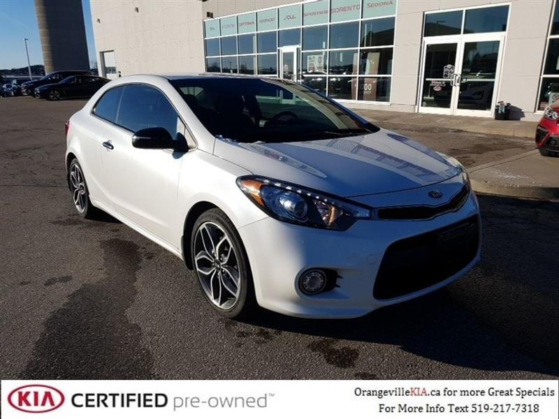 2014 Kia Forte Koup SX Turbo Auto - Trade-In #95024A
