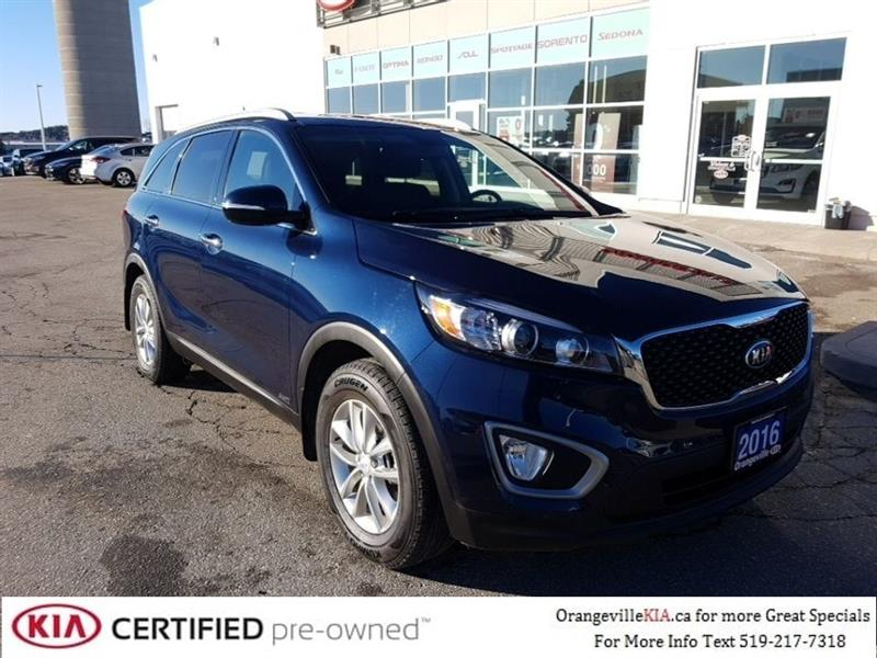 2016 Kia Sorento LX 2.4L AWD - Trade-in, Low Kms #95044A