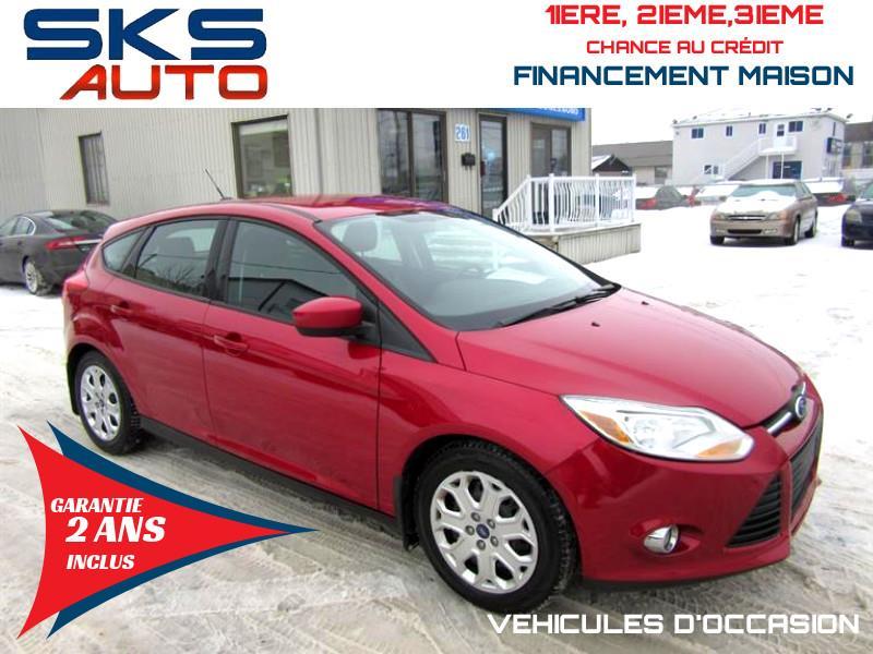 2012 Ford Focus SE (GARANTIE 2 ANS INCLUS) FINANCEMENT MAISON #SKS-4315