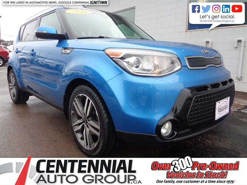 2016 Kia Soul SX Luxury | Nav | Bluetooth | Moonroof | Heated #18-289A