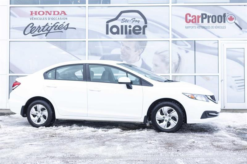 Honda Civic 2014 LX ***GARANTIE 10 ANS/200 000 KM*** #190136A