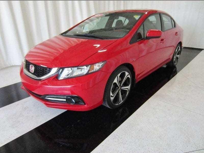 2015 Honda Civic Sedan Si *Sunroof/Nav/No Accidents* #15HC00151