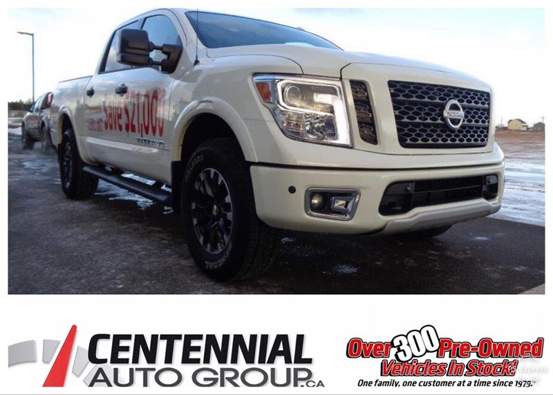 2018 Nissan Titan Save $21,000 | Pro 4X Luxury | Executive Driven #S18-110