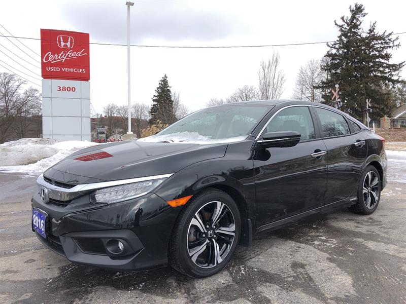 2016 Honda Civic Sedan Touring #UC1455