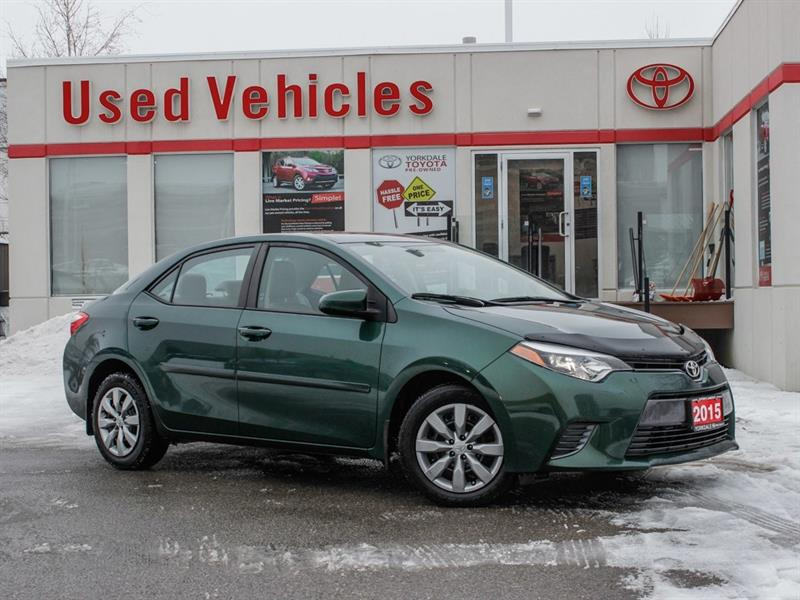 2015 Toyota Corolla LE   H.Seats   R.Cam   B.Tooth   Keyless #9225793A