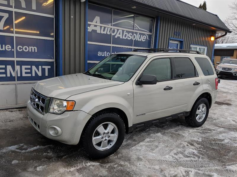 Ford Escape 2008 XLT + Cuir + Toit #E0156