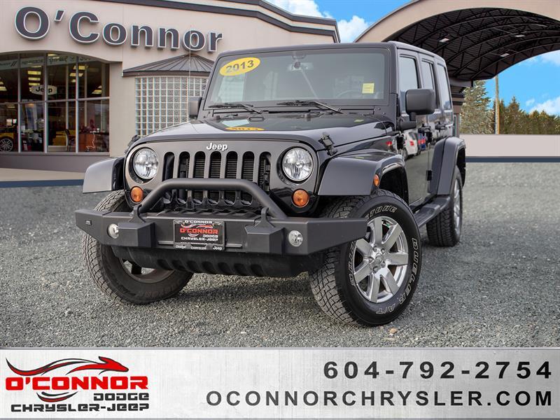 2013 Jeep Wrangler Unlimited Sahara #U16681