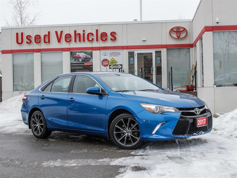 2017 Toyota Camry XSE   Navi   Leather   Alloys   H.Seats   R.Cam #8107862A