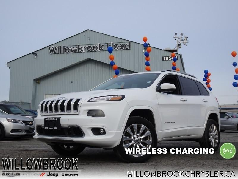 2017 Jeep Cherokee Overland #18UP566