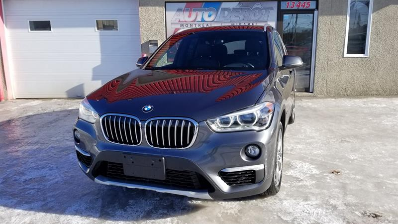 BMW X1 2016 AWD  HUD, PREMIUM-TECH PACK, CONVENIENCE TELEPHONY #6355