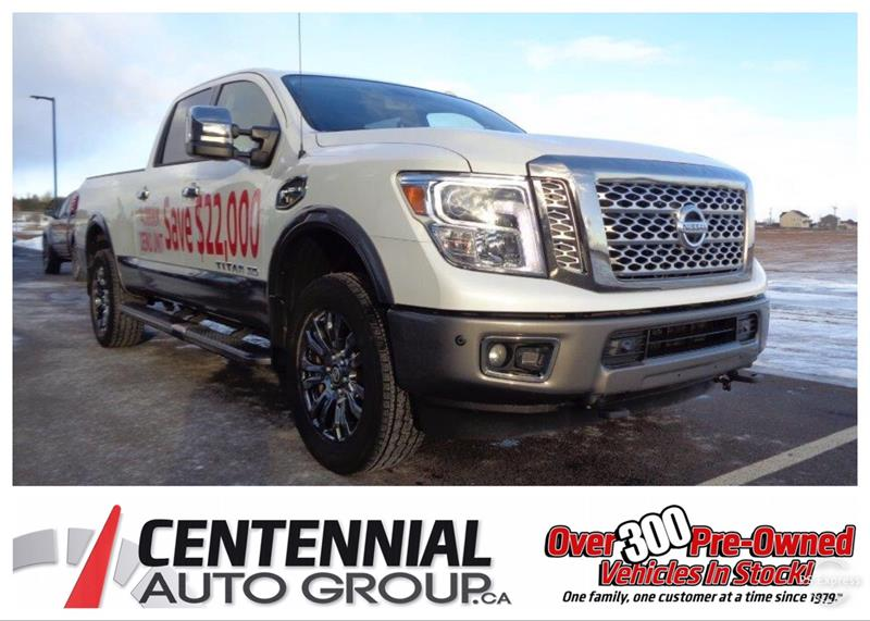 2018 Nissan Titan XD  SAVE $22,000 | PLATINUM | EXECUTIVE DRIVEN |  #S18-105