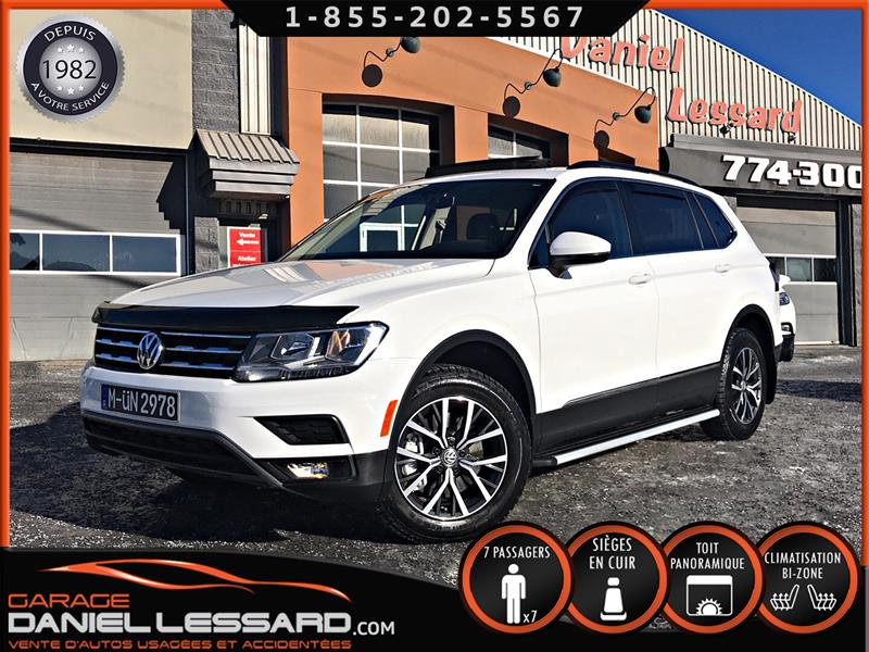 Volkswagen Tiguan 2018 4MOTION, 7 PLACES, CUIR, TOIT PANO, GPS, MAG #88644