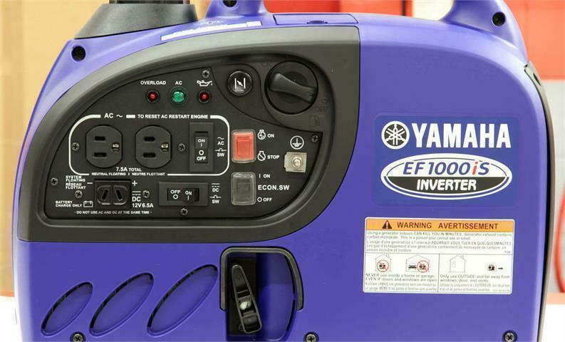 2018 Yamaha EF 1000IS