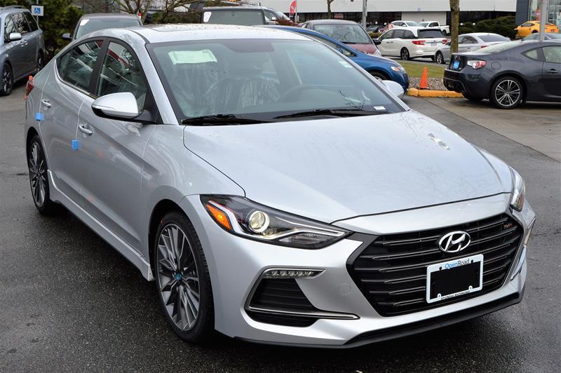 2018 Hyundai Elantra Sedan Sport - MT #ES6756X