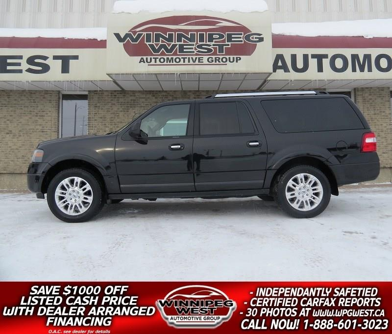 2013 Ford Expedition Max LIMITED EDITION 4X4, 7 PASS, ALL OPTIONS, SHARP! #GNW4922