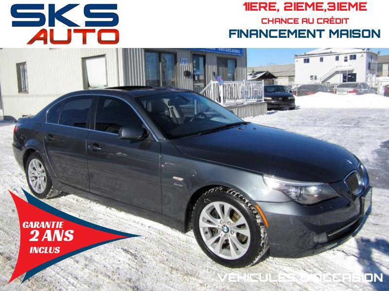 2009 BMW 535i Xdrive (GARANTIE 2 ANS INCLUS) VEHICULE D'OCCASION #SKS-4293-4