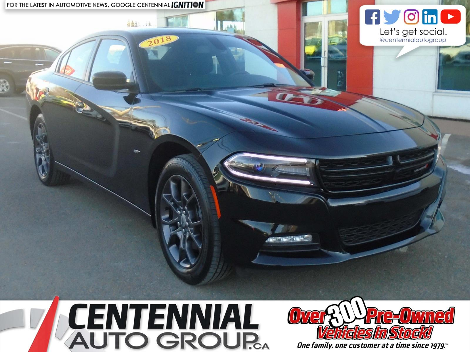 2018 Dodge Charger GT | AWD | #U1854