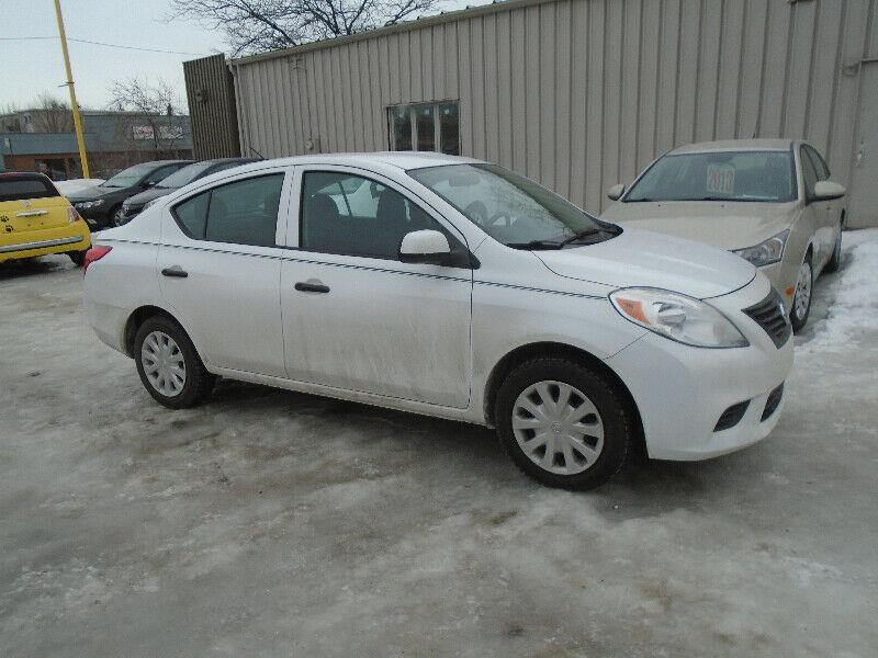 Nissan Versa 2012 4dr Sdn I4 1.6 #1338