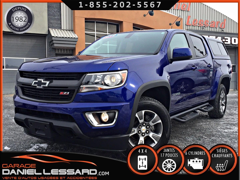 Chevrolet Colorado 2016 4WD Z71, V-6, CREW, CUIR / TISSUS, CAMERA ET ++ #69046