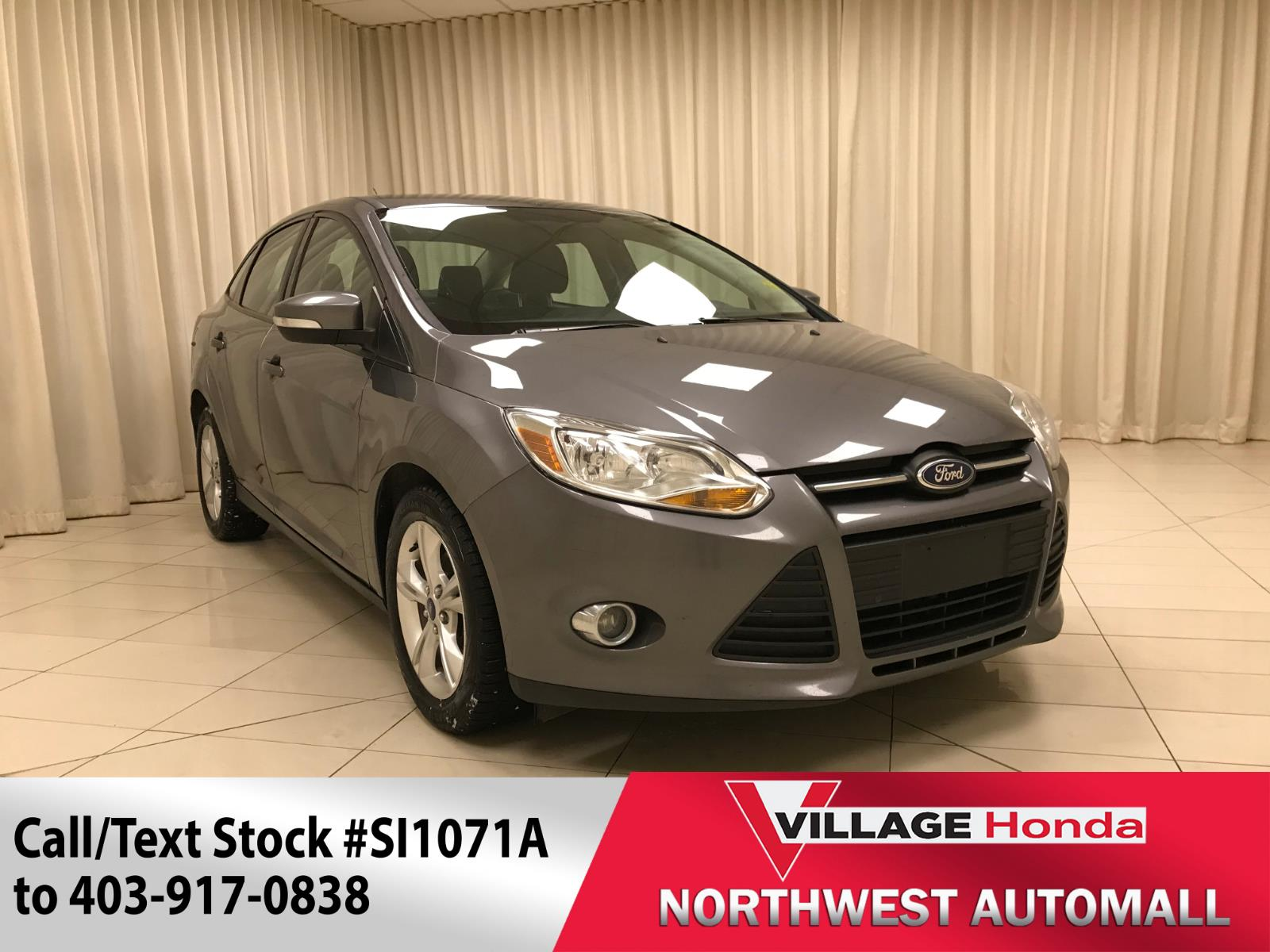 2013 Ford Focus SE - Bluetooth/H Seats #SI1071A