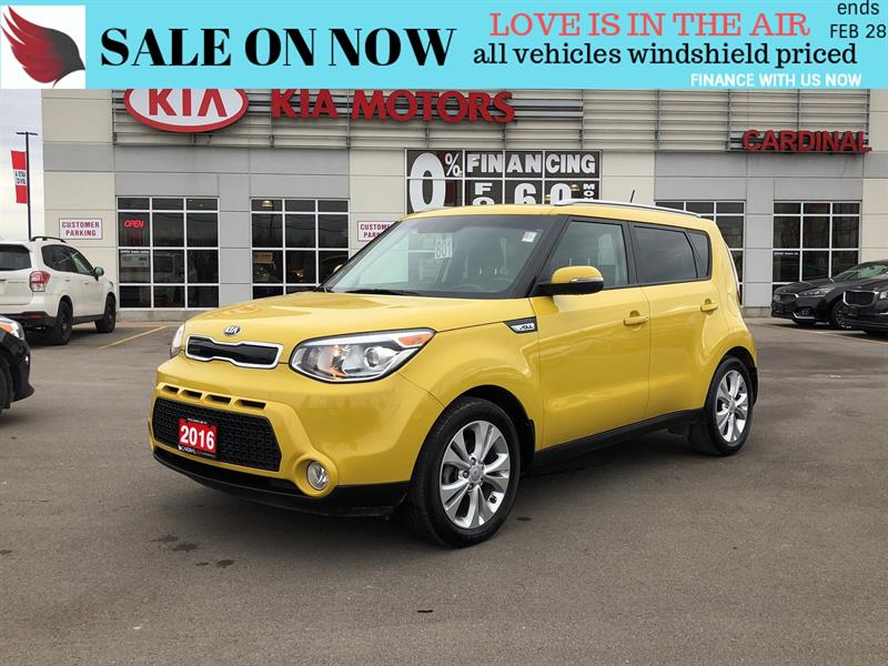 2016 Kia Soul EX+BLUETOOTH*HEAT SEATS*BACK CAM #NI18244A