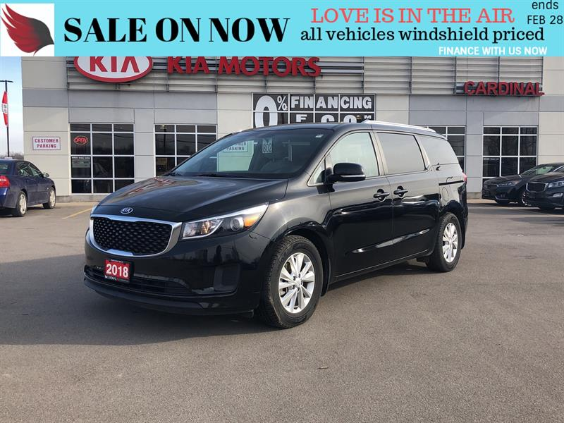 2018 Kia Sedona LX*BACK CAMERA*BLUETOOTH*8 PASSENGER #8034
