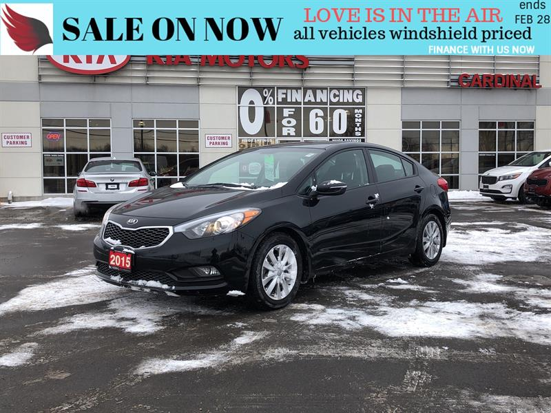 2015 Kia Forte LX*ONE OWNER*CARPROOF CLEAN #FR18235A