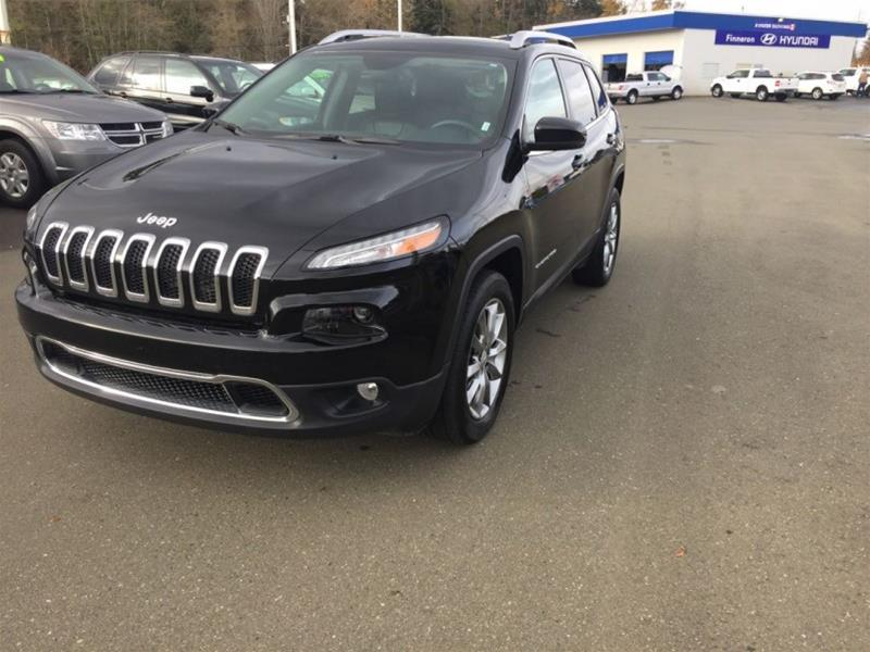 2017 Jeep Cherokee 4x4 Limited #PH1036