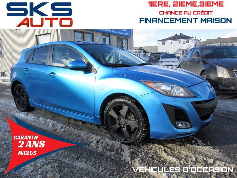 Mazda 3 Sport 2010 (GARANTIE 2 ANS INCLUS) *FINANCEMENT MAISON* #SKS-4290-5