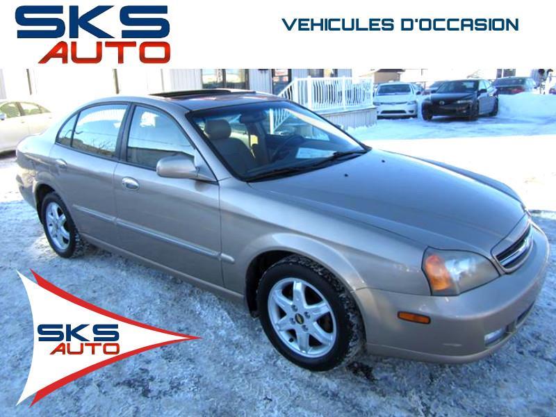 2005 Chevrolet Epica LT (GARANTIE 1 ANS INCLUS) VEHICULE D'OCCASION #SKS-4309-