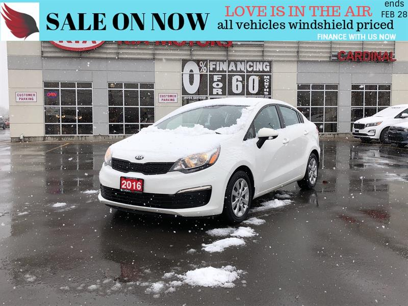 2016 Kia Rio LX*BLUETOOTH*AIR*CRUISE #FR18129C