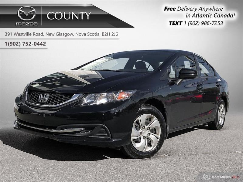 2015 Honda Civic Sedan AUTO! LOW KMS! A/C! BACKUP CAM! HEATED SEATS! #U4282