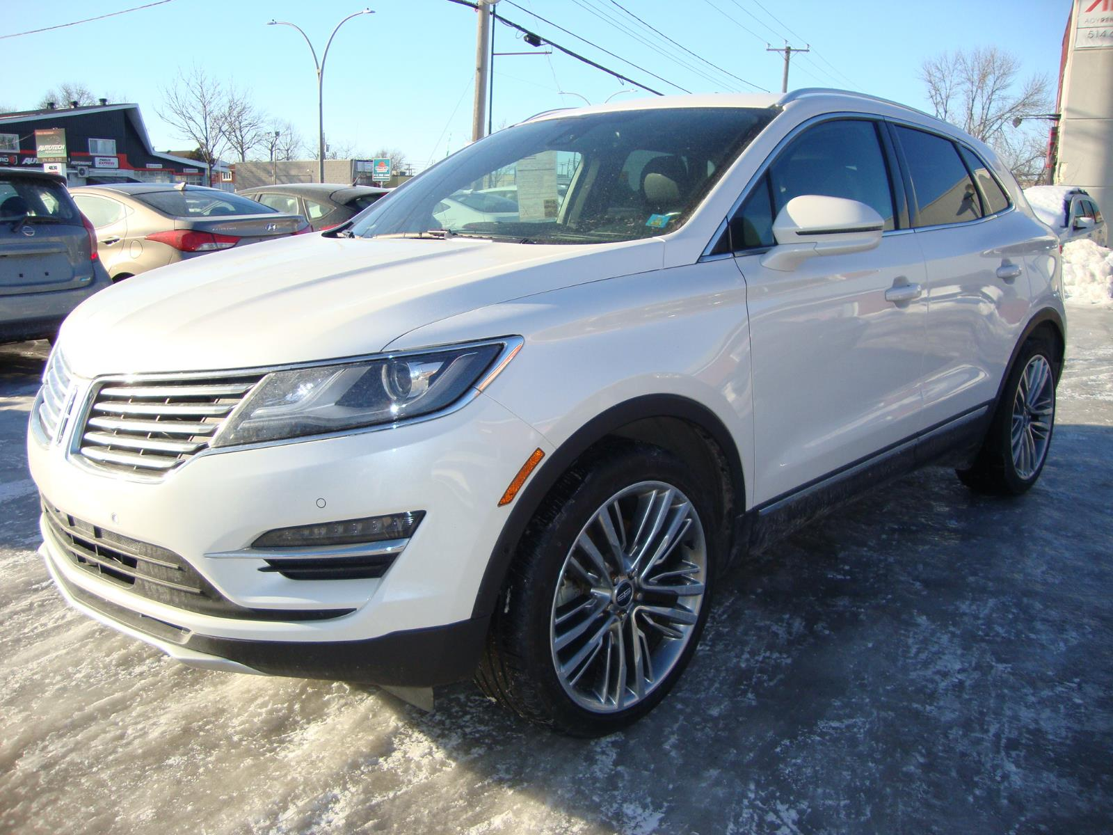 2015 Lincoln MKC AWD PLATINUM 20MAGS NAVI-TECH PCKG #S018