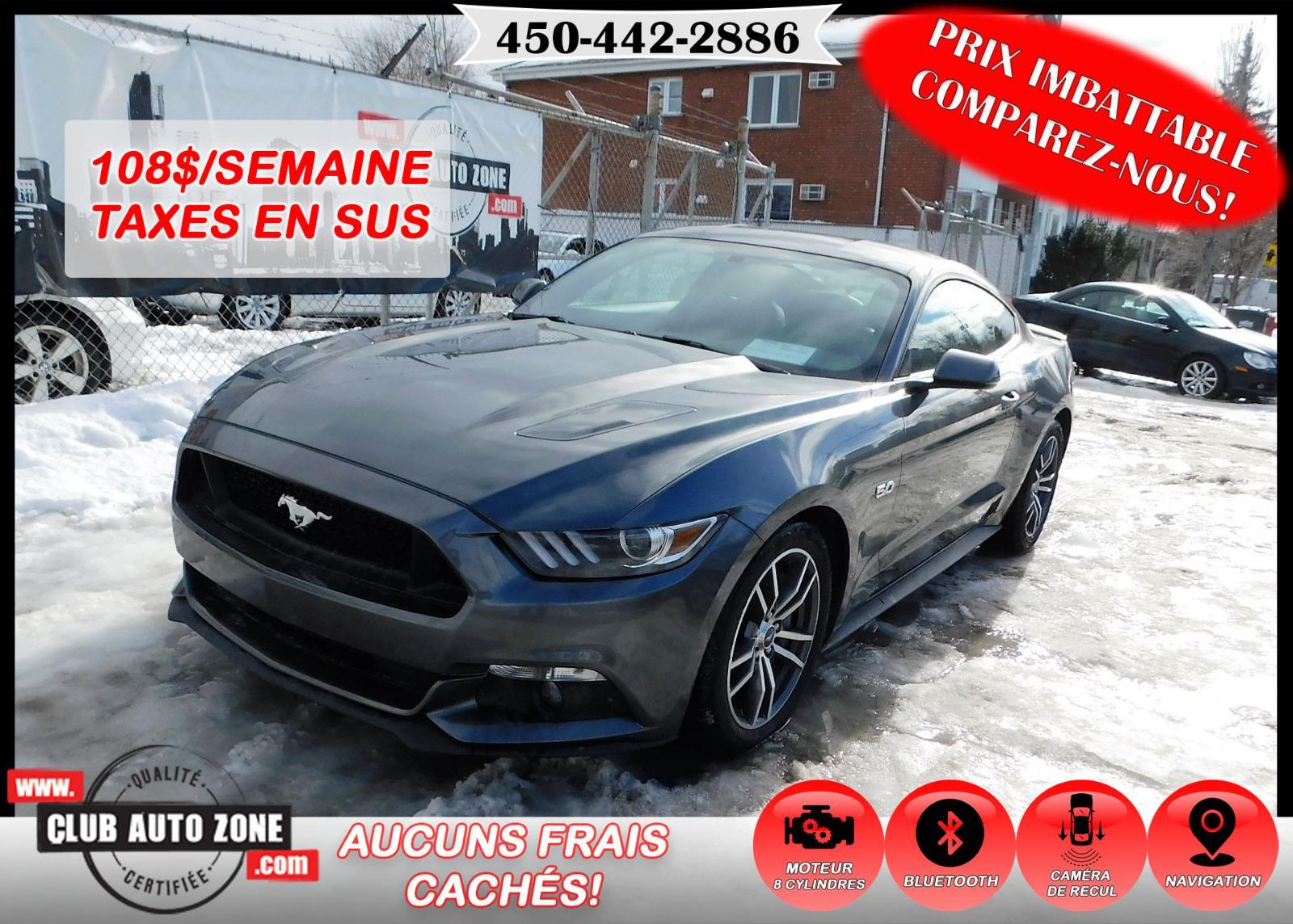 Ford Mustang 2017 GT 5.0 NAVIGATION CAMÉRA DE RECUL #H5317966