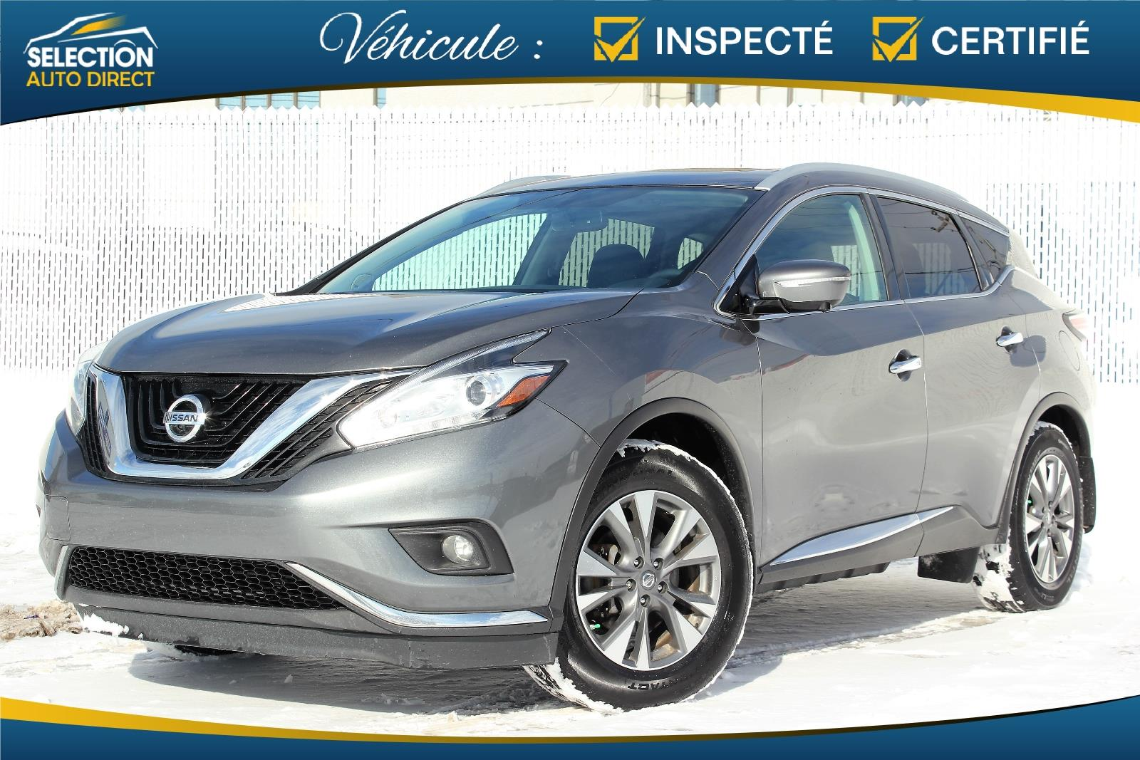 Nissan Murano 2015 AWD 4dr #S254075