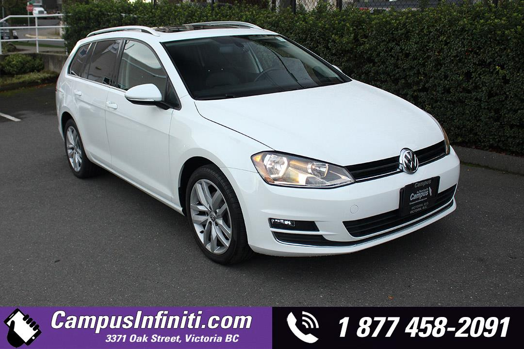 2015 Volkswagen Golf Sportwagon | Highline | w/ Sunroof #JI3125