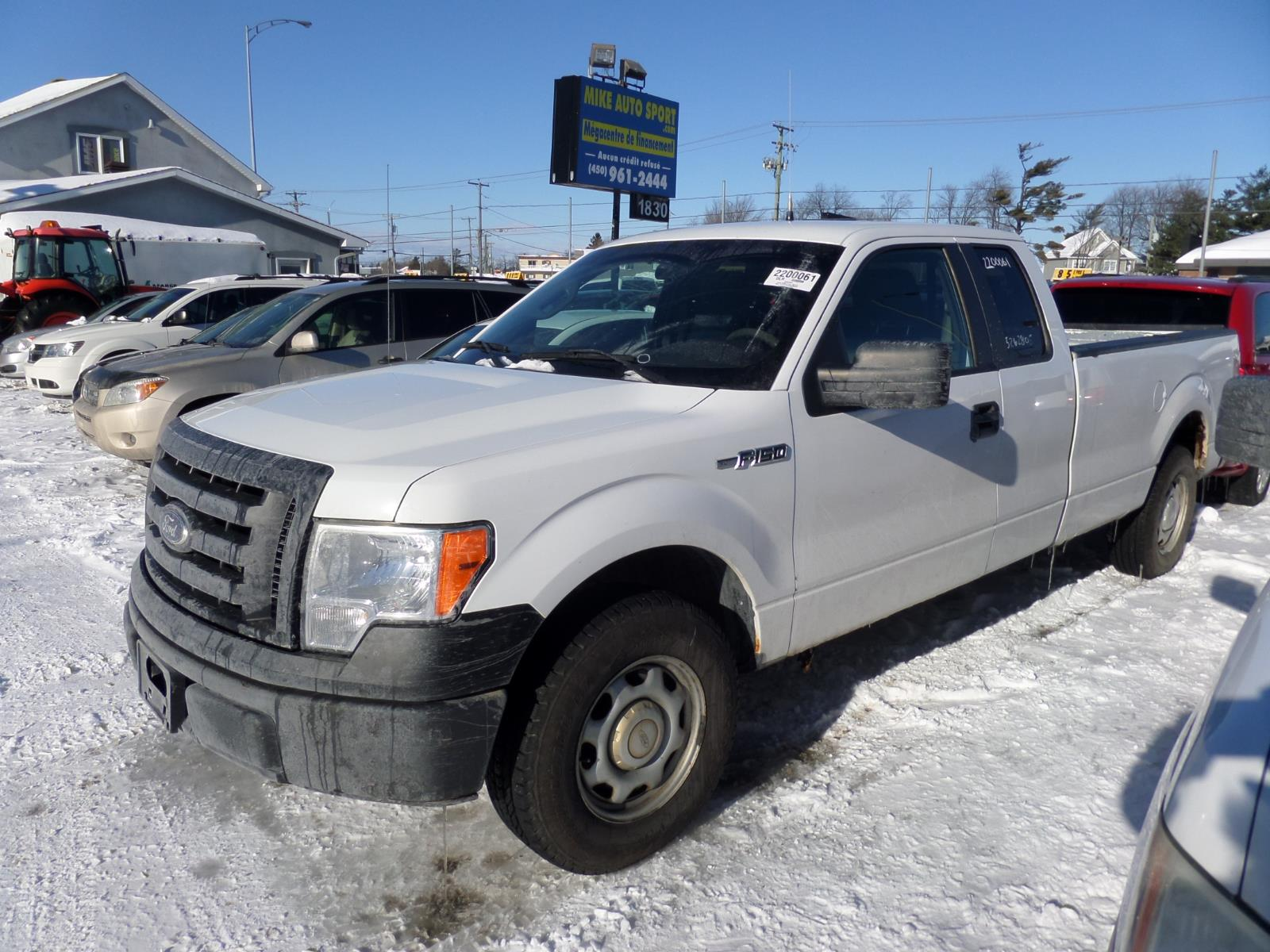 Ford F-150 2010 2WD SuperCab 163