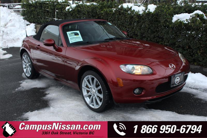 2007 Mazda MX-5 | GT | RWD Convertible w/ Leather #JN3110A