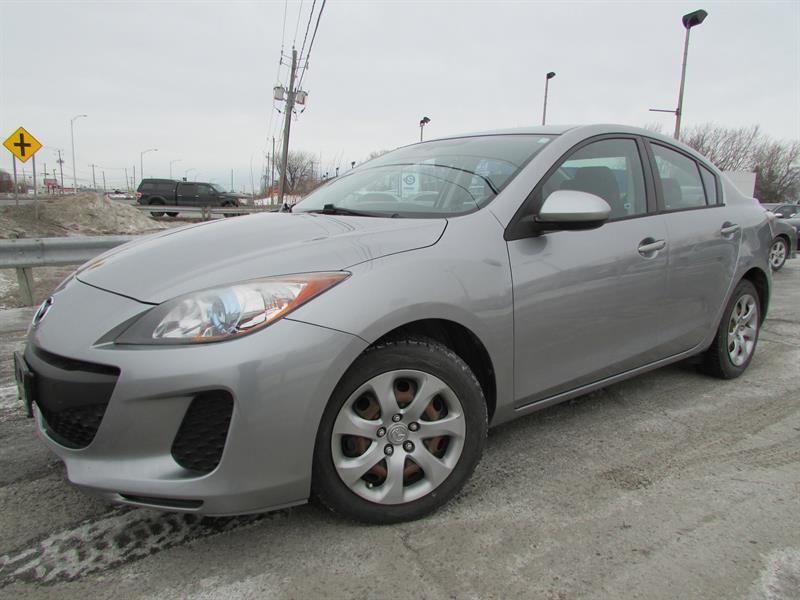 Mazda mazda3 2013 GX A/C CRUISE PNEUS D'HIVER!!! #4231